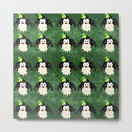 Leprechaun  Tsum  tsum  pattern Metal Print