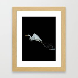 Stork - 104 Framed Art Print