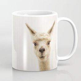 Alpaca Portrait Coffee Mug