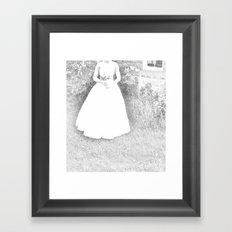 WHITEOUT : Ghost Bride Framed Art Print