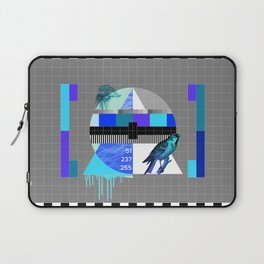 Waiting for the show to begin (Test Pattern 4) Laptop Sleeve
