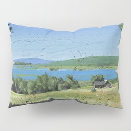 cabin - by phil art guy Pillow Sham