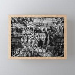 """Mouna's Meal In Paris"" Framed Mini Art Print"