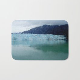 Alaska Blue Iceberg Pristine Wilderness Bath Mat