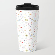 space pattern Metal Travel Mug