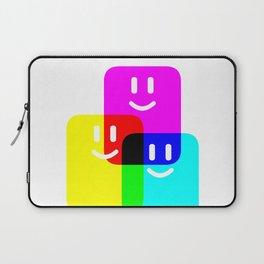CMYK Full Cartridges | Emoji Version Laptop Sleeve