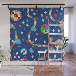 Board Game Pattern Wall Mural