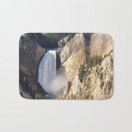 Lower Yellowstone Falls Bath Mat