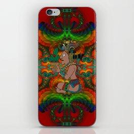 Yucatan Psychedelic Mexicano Visiones iPhone Skin