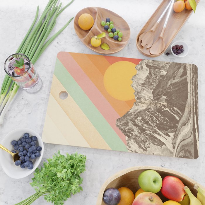 Mountainscape 1 Cutting Board