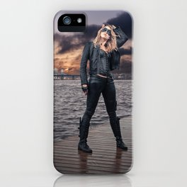 Black Canary iPhone Case