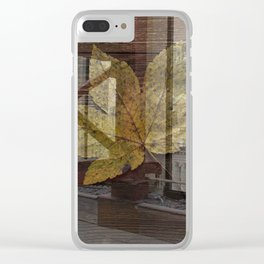 Lisa Marie Basile, No. 83 Clear iPhone Case