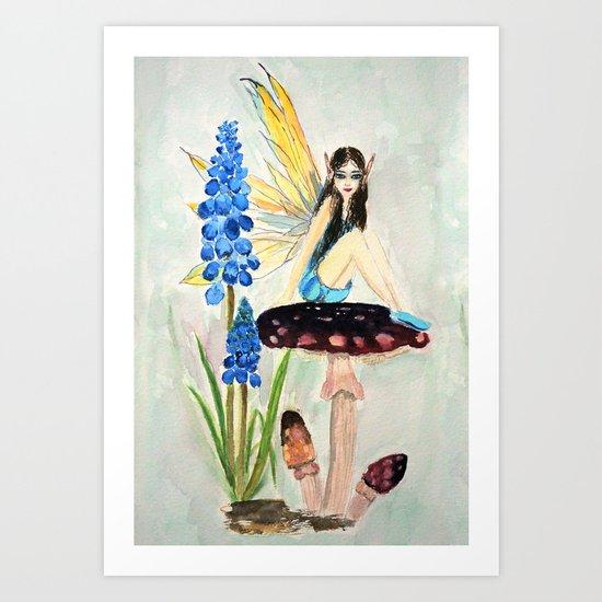 My childhood fantasy. colored Art Print