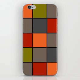 Colorful squares 2 iPhone Skin
