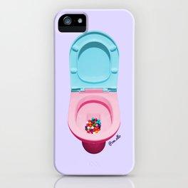 Bum Drops iPhone Case