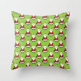 Christmas santa santa claus Throw Pillow
