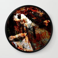 contemporary Wall Clocks featuring abstract contemporary by  Agostino Lo Coco