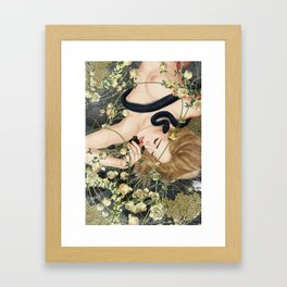 You Will Not Surely Die Framed Art Print