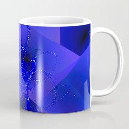 Suprematic Fractal Composition N4 Coffee Mug