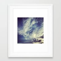 mexican Framed Art Prints featuring Mexican sky by Olivier P.