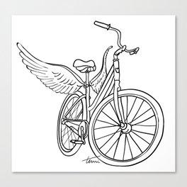 Dream Bike Canvas Print