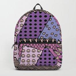 simple purple doodles Backpack