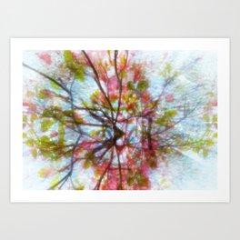 Creative roots Art Print