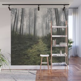 Unknown Road - landscape photography Wall Mural