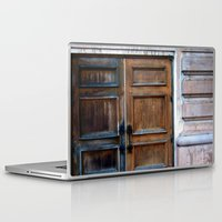 doors Laptop & iPad Skins featuring Doors by Jessica Jimerson