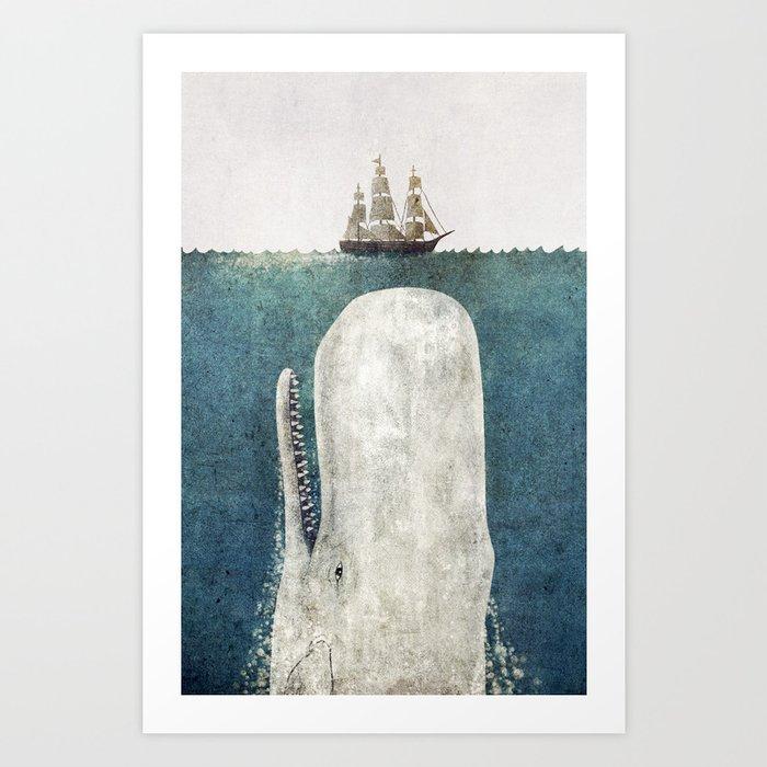 The White Whale Kunstdrucke