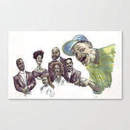 The fresh dead of Bel-Air Canvas Print