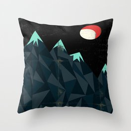 Night on Bald Mountain - Mussorgsky Throw Pillow
