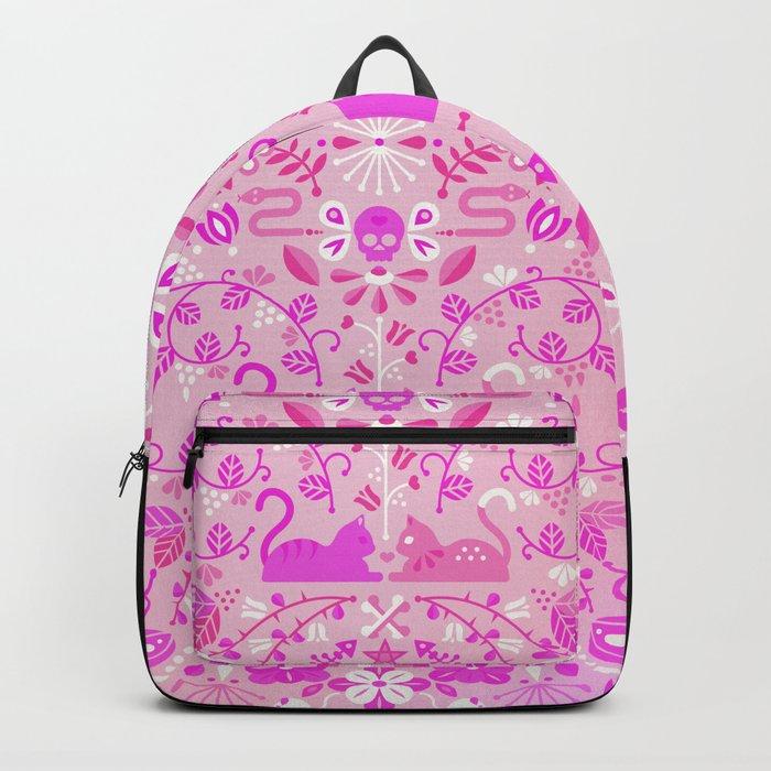 Kitten Lovers – Pink Ombré Backpack