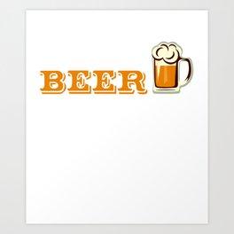 Buy Me a Beer My Wedding is Near Drinking Art Print