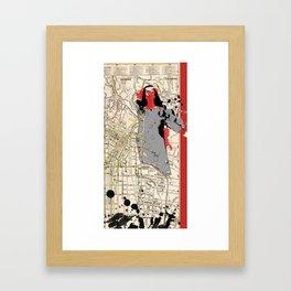 L.A. Woman Framed Art Print