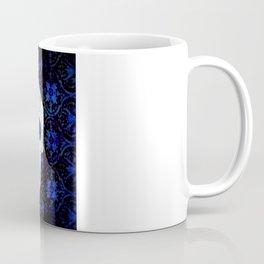 Comedy-Tragedy Sugar Skulls Cyan Coffee Mug