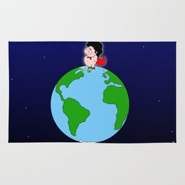 Taking over the world Rug