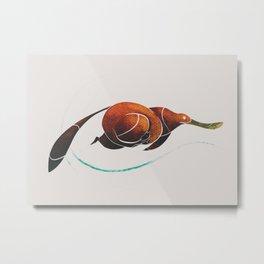 platypus Metal Print