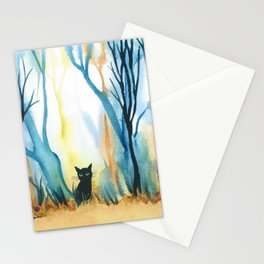 Calabria Whimsical Cat Stationery Cards