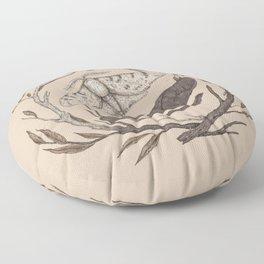 Peppered Moths Floor Pillow