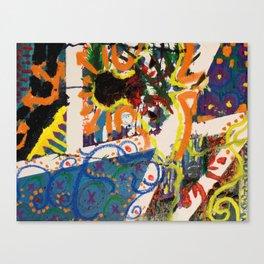 Paneled Bird Canvas Print