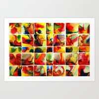 quilt Art Prints featuring Quilt by Jose Luis