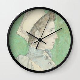 Portrait of Nurse Nelly, Jan Toorop, 1894 Wall Clock