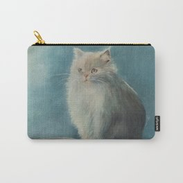Fluffy Persian Cat Carry-All Pouch