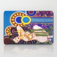klimt iPad Cases featuring African Klimt by Morgan Fay