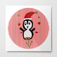 My Penguin | Christmas Spirit Metal Print
