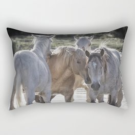 Family Time cr Rectangular Pillow