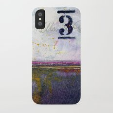 Small Abstract - No. 3 iPhone X Slim Case