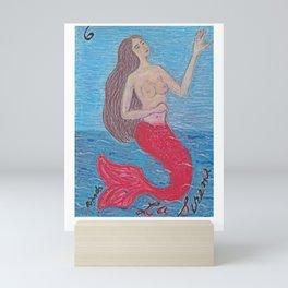 La Sirena Mini Art Print