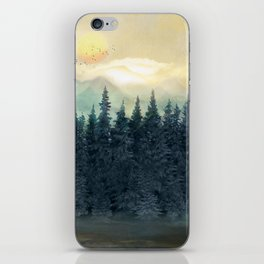 Forest Under the Sunset II iPhone Skin